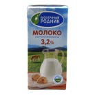 Молоко Молочный Родник 3,2% Ультрапастеризованное 970мл