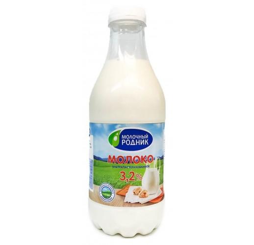 Молоко Молочный Родник 3,2% 900мл